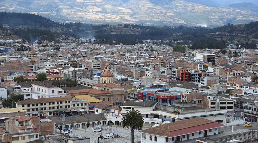 The Indigenous Town of Otavalo